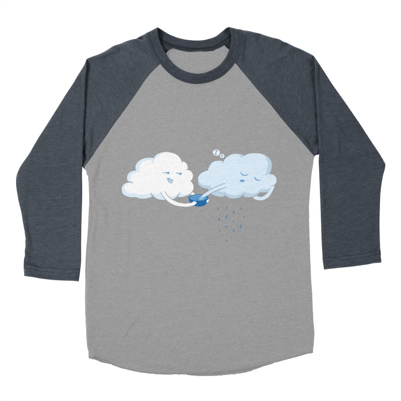 April (Fools) Showers Men's Baseball Triblend T-Shirt by Charity Ryan