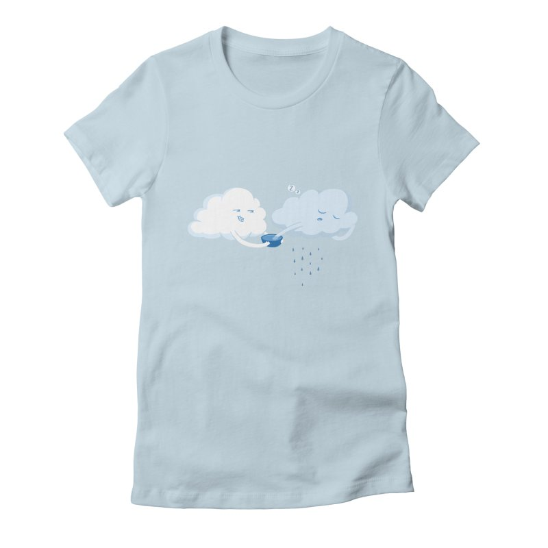 April (Fools) Showers Women's Fitted T-Shirt by Charity Ryan
