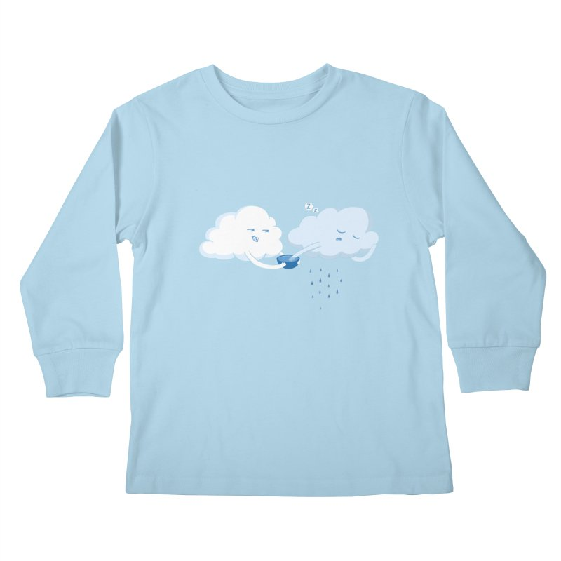 April (Fools) Showers Kids Longsleeve T-Shirt by Charity Ryan