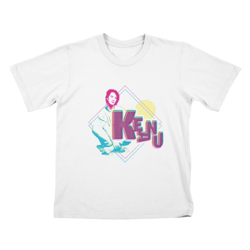 The Keanu Aesthetic Kids T-Shirt by charlieboy's Artist Shop