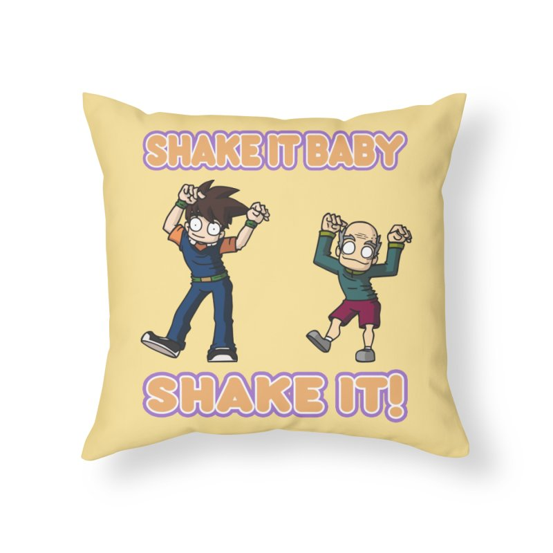 SHAKE IT! Home Throw Pillow by CHASTUDIOS SHOP
