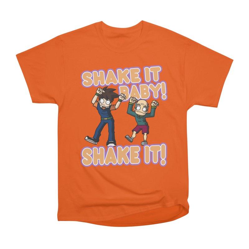 SHAKE IT! Women's Heavyweight Unisex T-Shirt by CHASTUDIOS SHOP