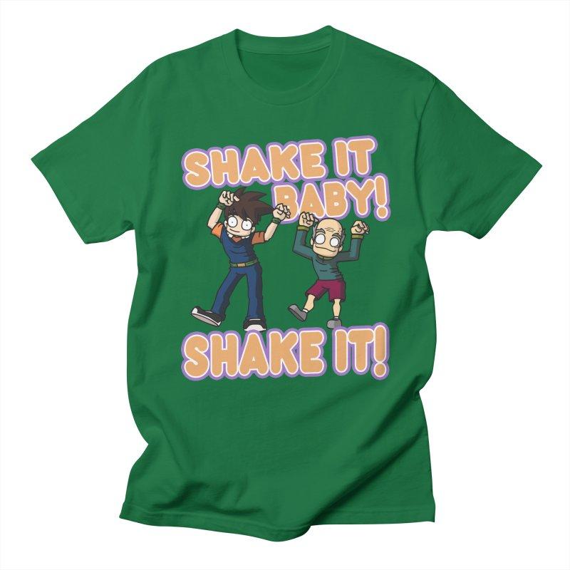 ------------------ SHAKE IT! ------------------ Men's Regular T-Shirt by CHASTUDIOS SHOP