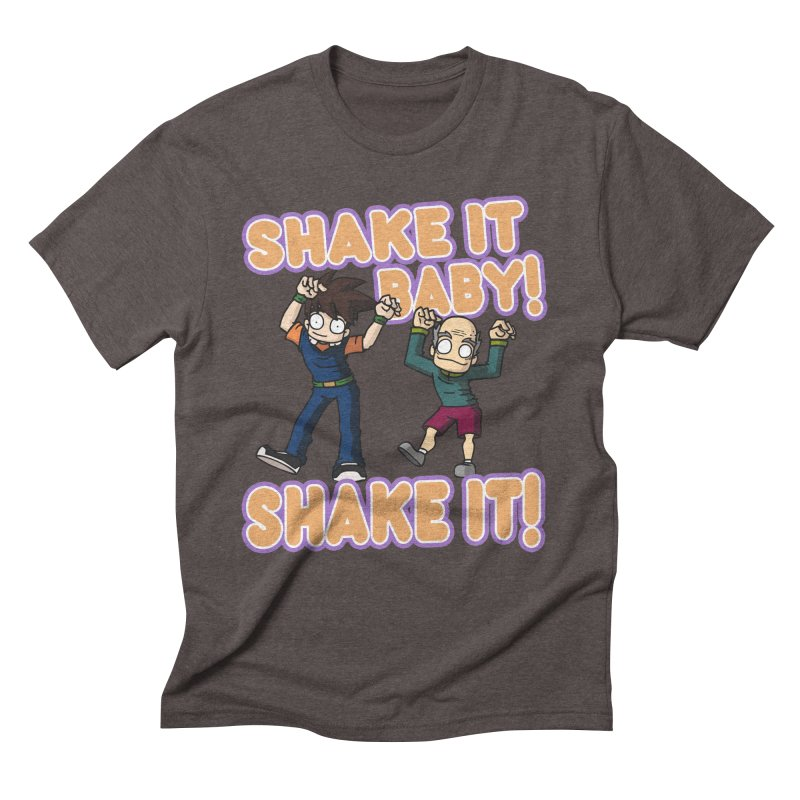 SHAKE IT! Men's Triblend T-Shirt by CHASTUDIOS SHOP