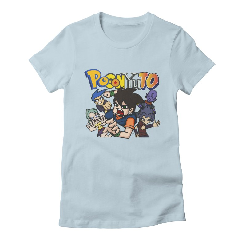 PoGonYuTistic Action! Women's Fitted T-Shirt by CHASTUDIOS SHOP
