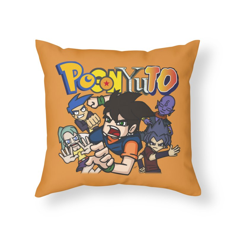 PoGonYuTistic Action! Home Throw Pillow by CHASTUDIOS SHOP