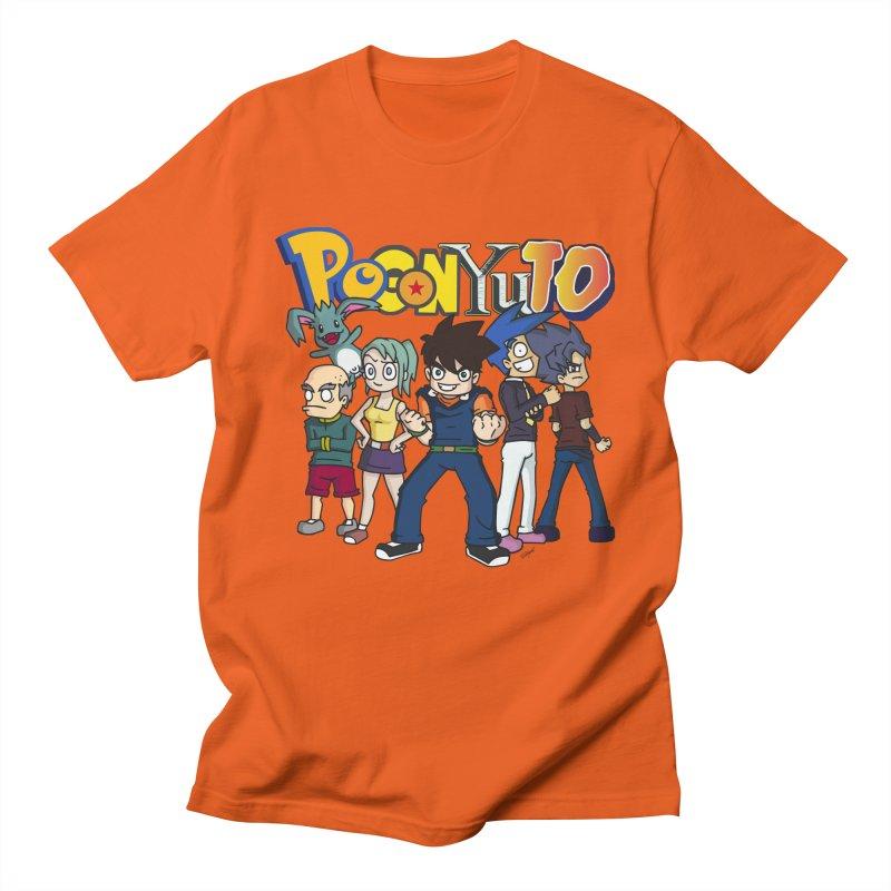 PoGonCharacters Men's T-Shirt by CHASTUDIOS SHOP