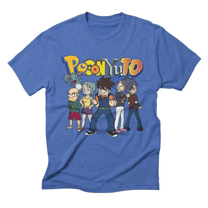 PoGonCharacters Men's Triblend T-Shirt by CHASTUDIOS SHOP