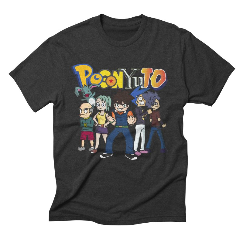 ----------- POGONPERSONAJES ----------- Men's Triblend T-Shirt by CHASTUDIOS SHOP