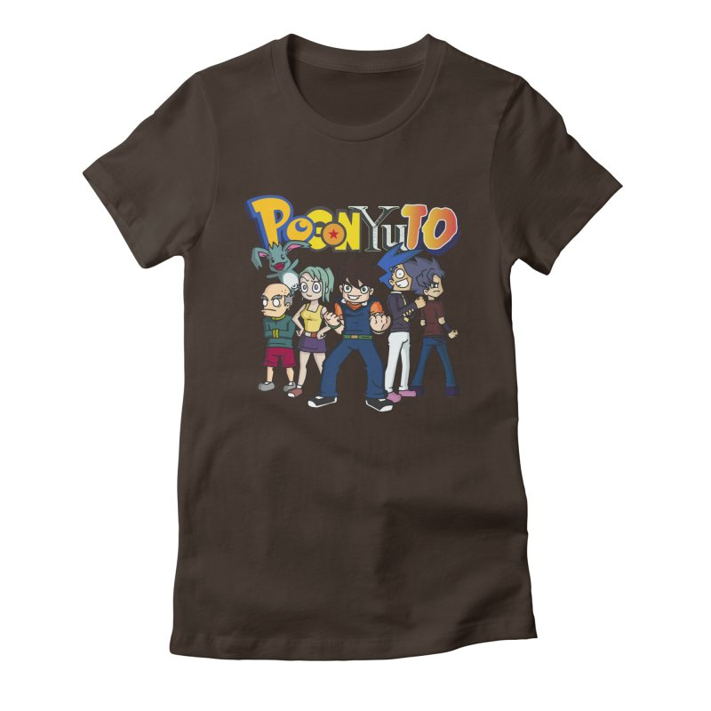 PoGonCharacters Women's Fitted T-Shirt by CHASTUDIOS SHOP