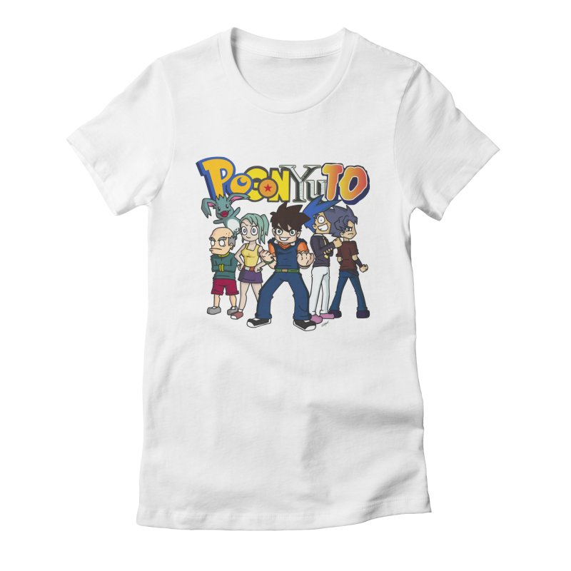 ----------- POGONPERSONAJES ----------- Women's Fitted T-Shirt by CHASTUDIOS SHOP