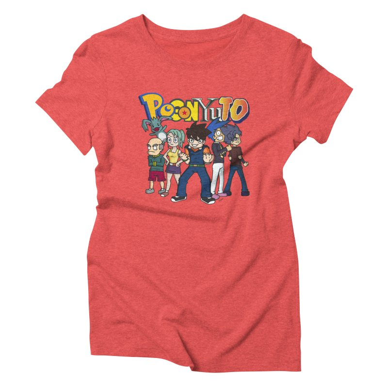 PoGonCharacters Women's Triblend T-Shirt by CHASTUDIOS SHOP