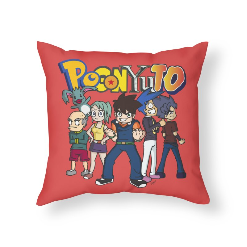 PoGonCharacters Home Throw Pillow by CHASTUDIOS SHOP
