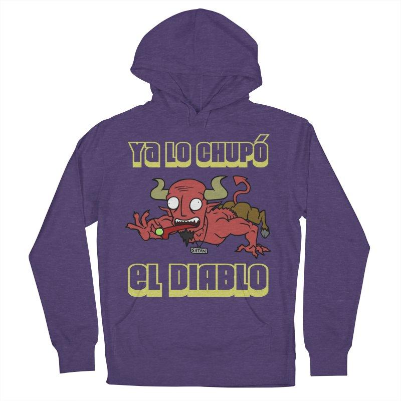 -------- YA LO CHUPÓ EL DIABLO -------- Men's French Terry Pullover Hoody by CHASTUDIOS SHOP