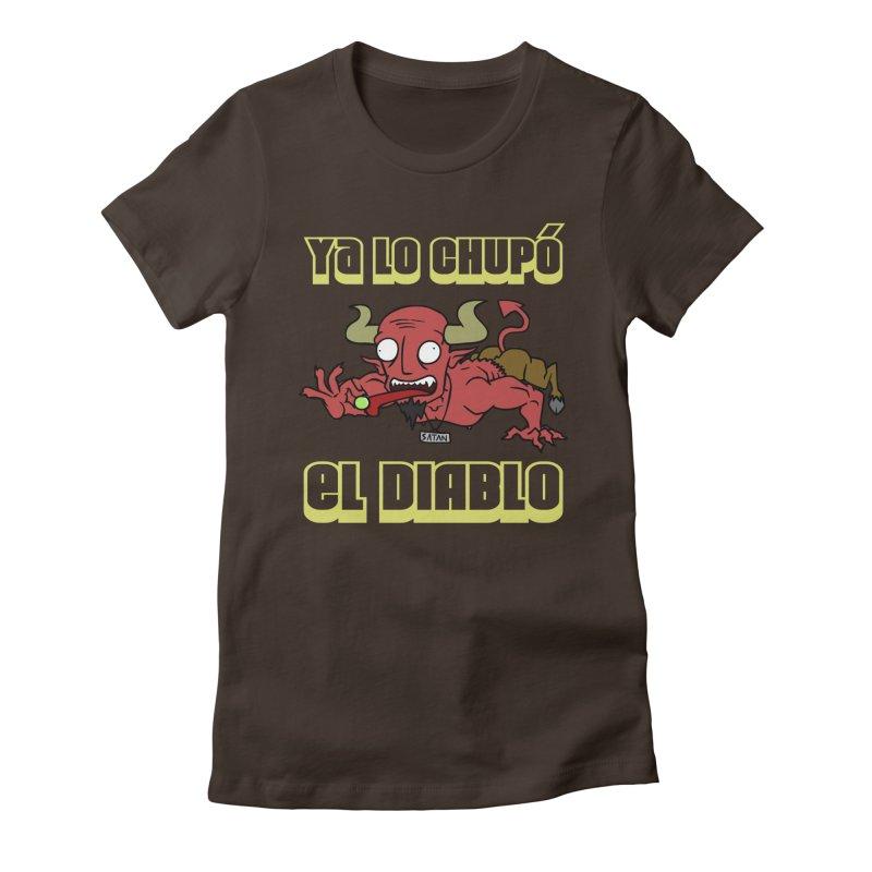 Ya lo chupó el Diablo Women's Fitted T-Shirt by CHASTUDIOS SHOP