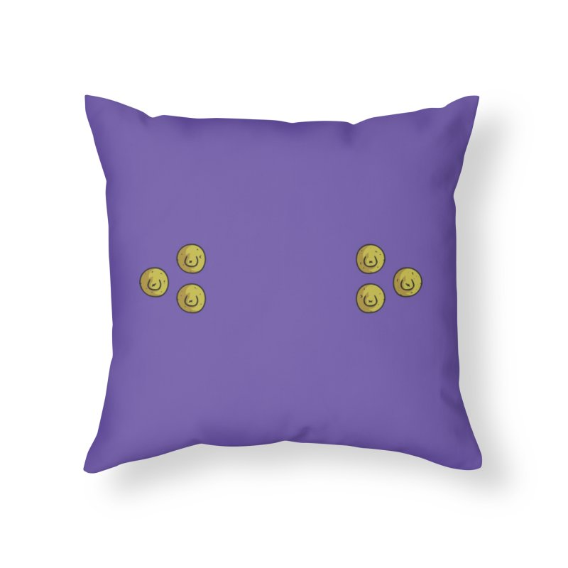 -------------- SEIS PEZONES -------------- Home Throw Pillow by CHASTUDIOS SHOP