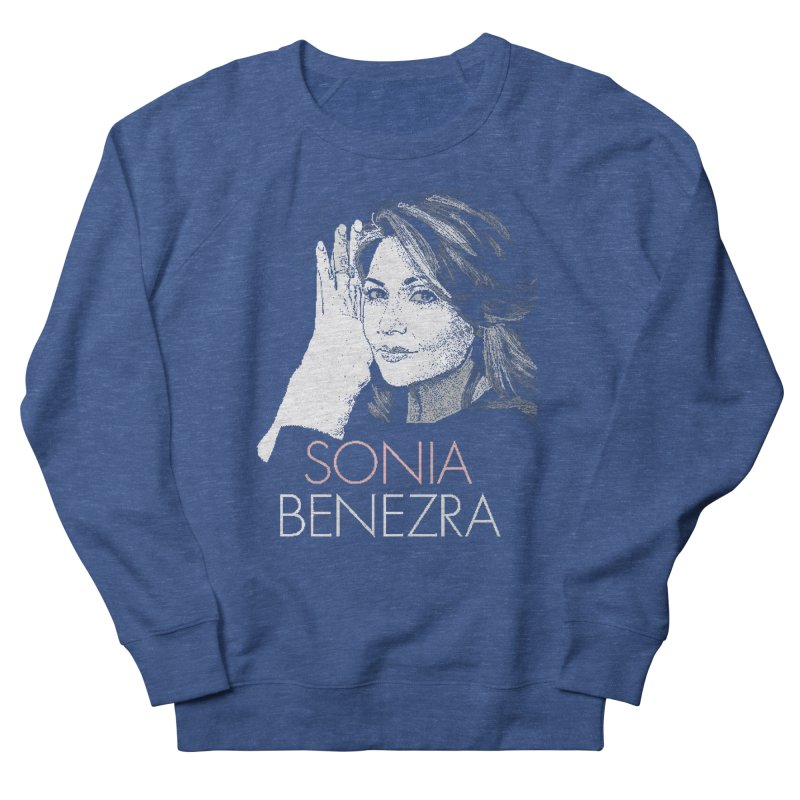 Sonia Benezra Love in Women's Sweatshirt Heather Royal by Chaudaille