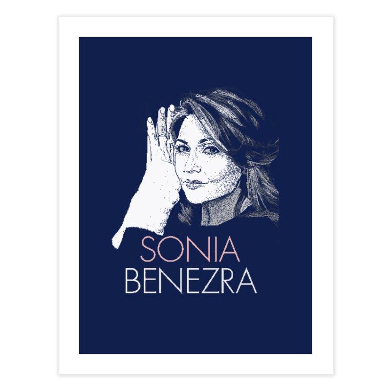 Sonia Benezra Love Home Fine Art Print by Chaudaille