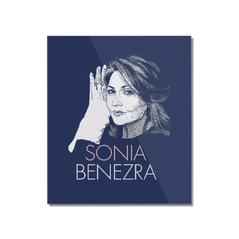 Sonia Benezra Love Home Mounted Acrylic Print by Chaudaille