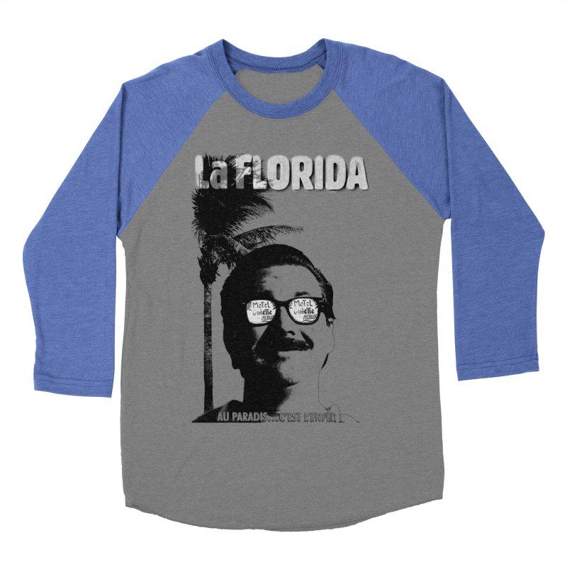 La Florida Women's Baseball Triblend Longsleeve T-Shirt by Chaudaille