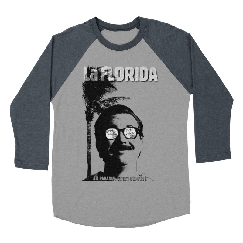 La Florida Women's Baseball Triblend Longsleeve T-Shirt by Chaudaille