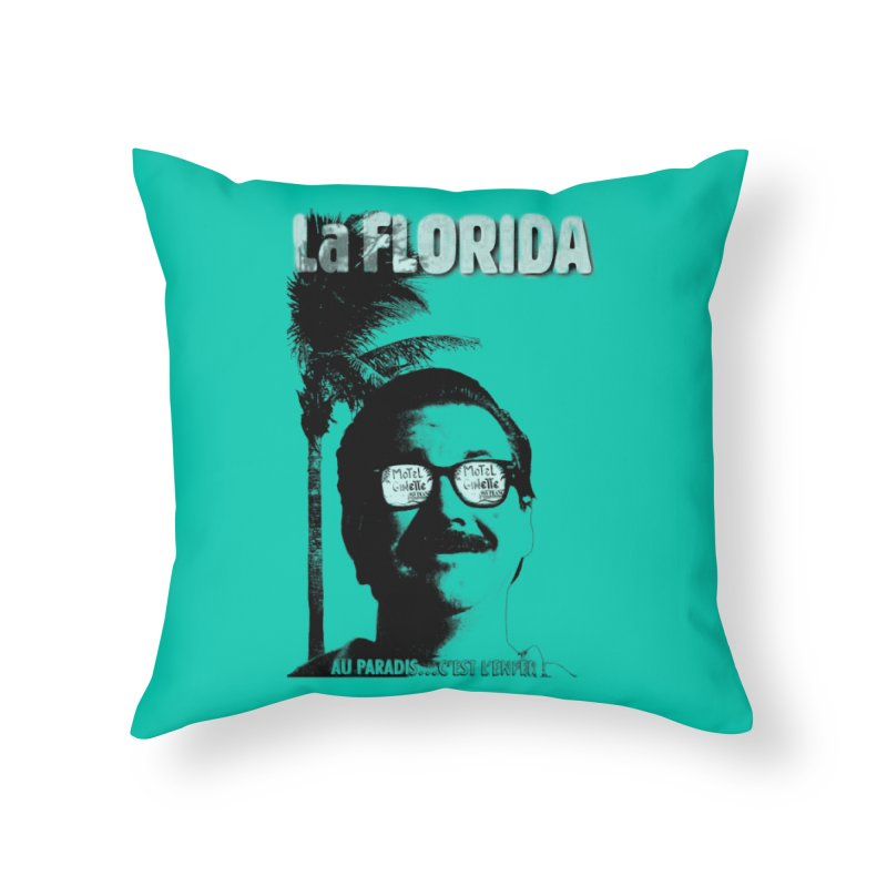 La Florida in Throw Pillow by Chaudaille