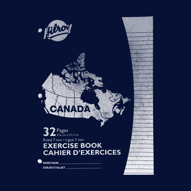 Cahier Canada Hilroy Accessories Notebook by Chaudaille