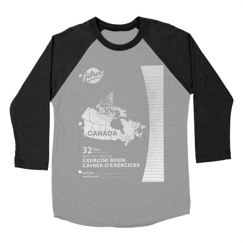 Cahier Canada Hilroy Women's Baseball Triblend Longsleeve T-Shirt by Chaudaille