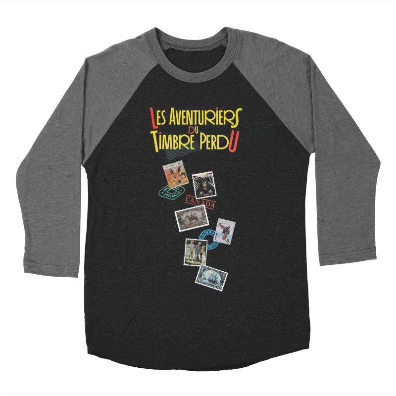 A la recherche du timbre perdu Women's Baseball Triblend Longsleeve T-Shirt by Chaudaille