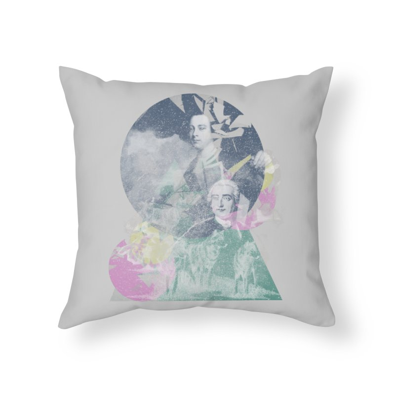 Wolf et Montcalm in Throw Pillow by Chaudaille