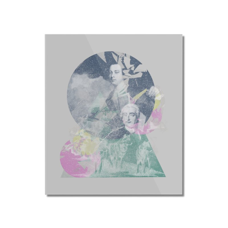 Wolf et Montcalm Home Mounted Acrylic Print by Chaudaille