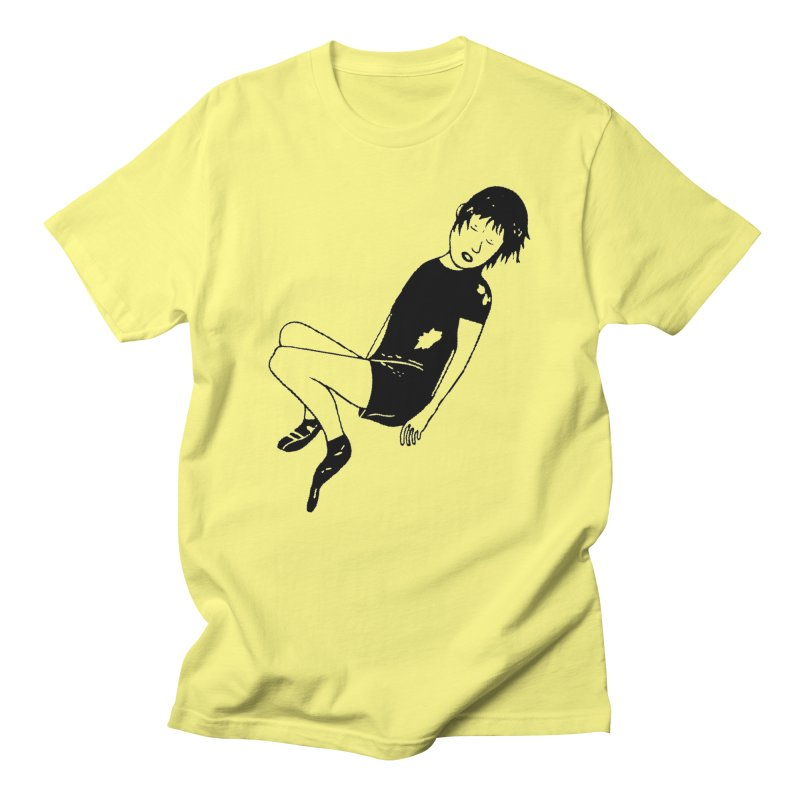 Attention à ton bas in Men's Regular T-Shirt Lemon by Chaudaille