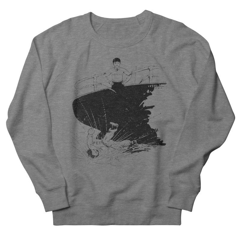 Pète pis Répète Men's Sweatshirt by Chaudaille