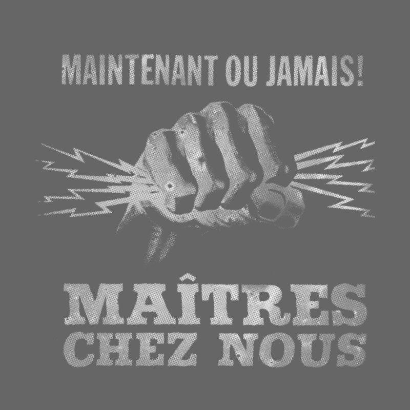 Maîtres Chez Nous Men's Zip-Up Hoody by Chaudaille