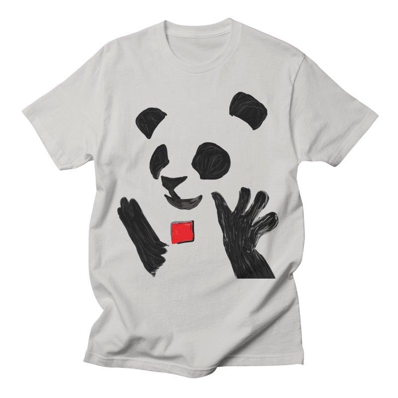 Anarcho Panda Men's T-Shirt by Chaudaille