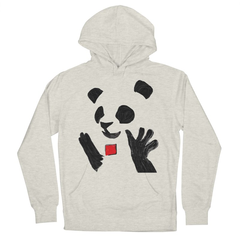 Anarcho Panda Men's Pullover Hoody by Chaudaille