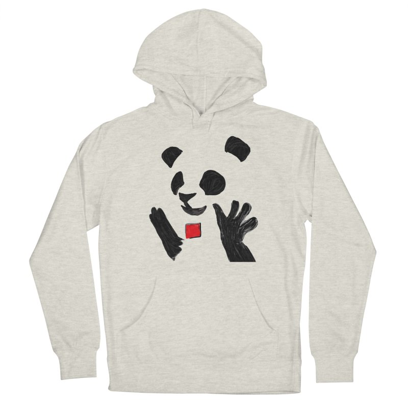 Anarcho Panda Women's Pullover Hoody by Chaudaille