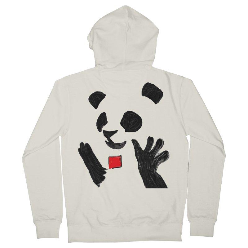 Anarcho Panda Women's Zip-Up Hoody by Chaudaille