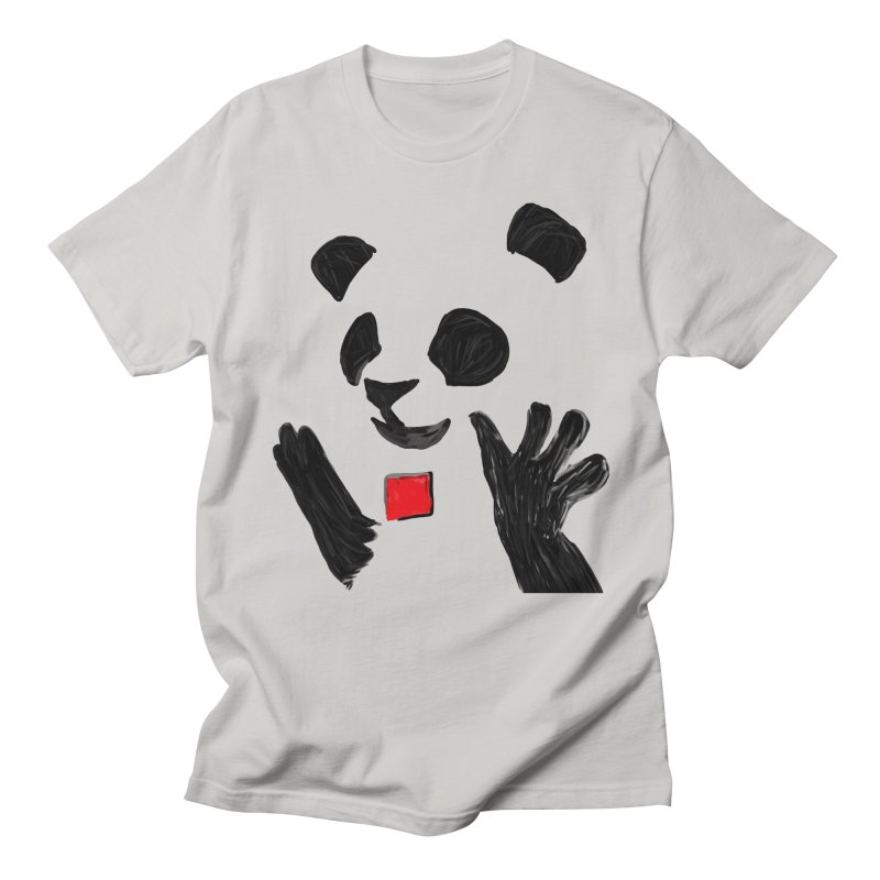 Anarcho Panda Men's T-Shirt by Chaudaille