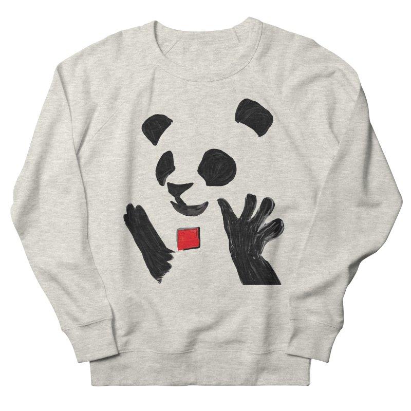 Anarcho Panda Women's Sweatshirt by Chaudaille