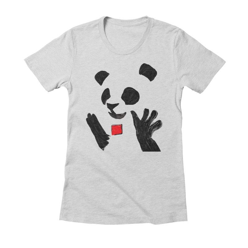 Anarcho Panda Women's T-Shirt by Chaudaille