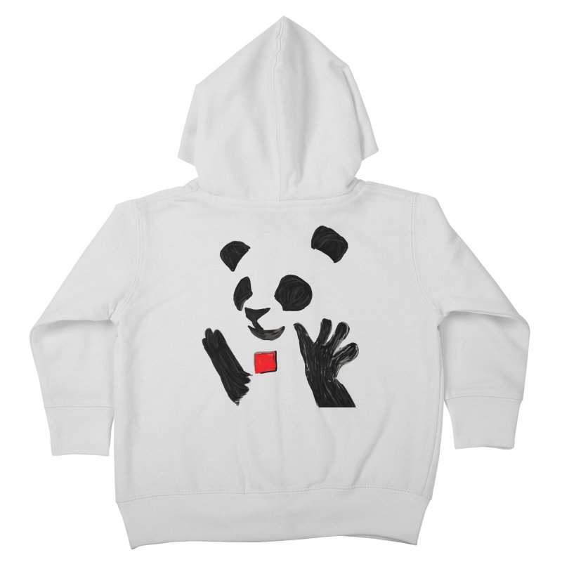 Anarcho Panda Kids Toddler Zip-Up Hoody by Chaudaille