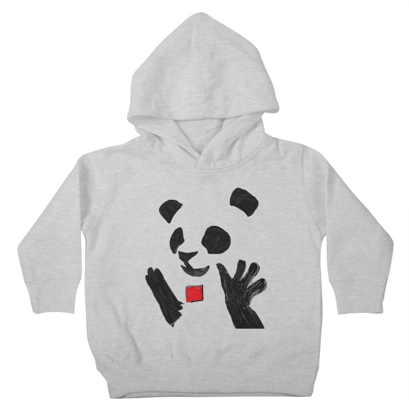 Anarcho Panda Kids Toddler Pullover Hoody by Chaudaille