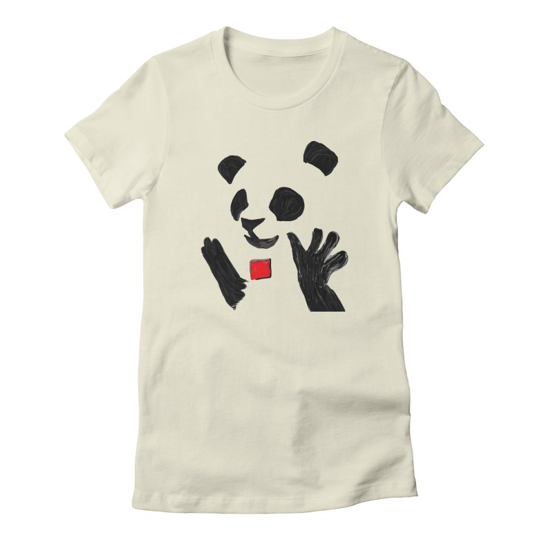 Anarcho Panda Women's T-Shirt by Chaudaille