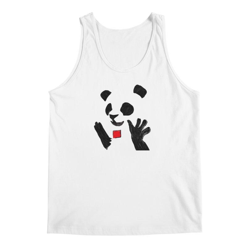Anarcho Panda Men's Tank by Chaudaille