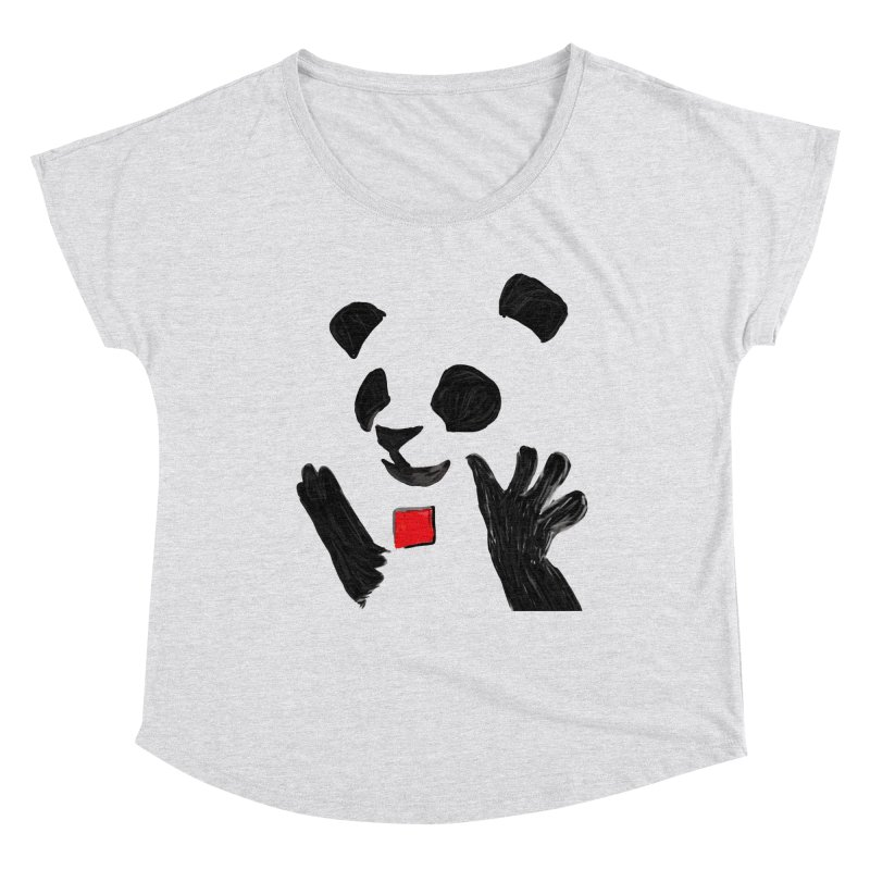 Anarcho Panda Women's Scoop Neck by Chaudaille