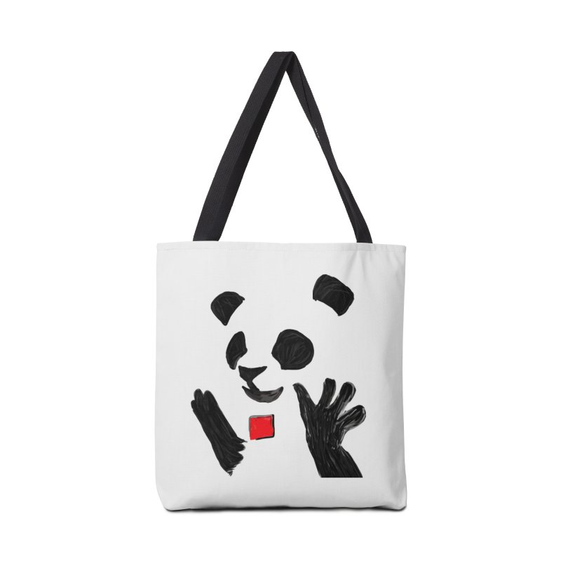 Anarcho Panda Accessories Tote Bag Bag by Chaudaille
