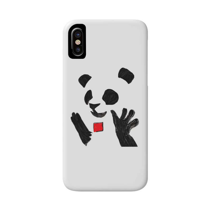 Anarcho Panda Accessories Phone Case by Chaudaille
