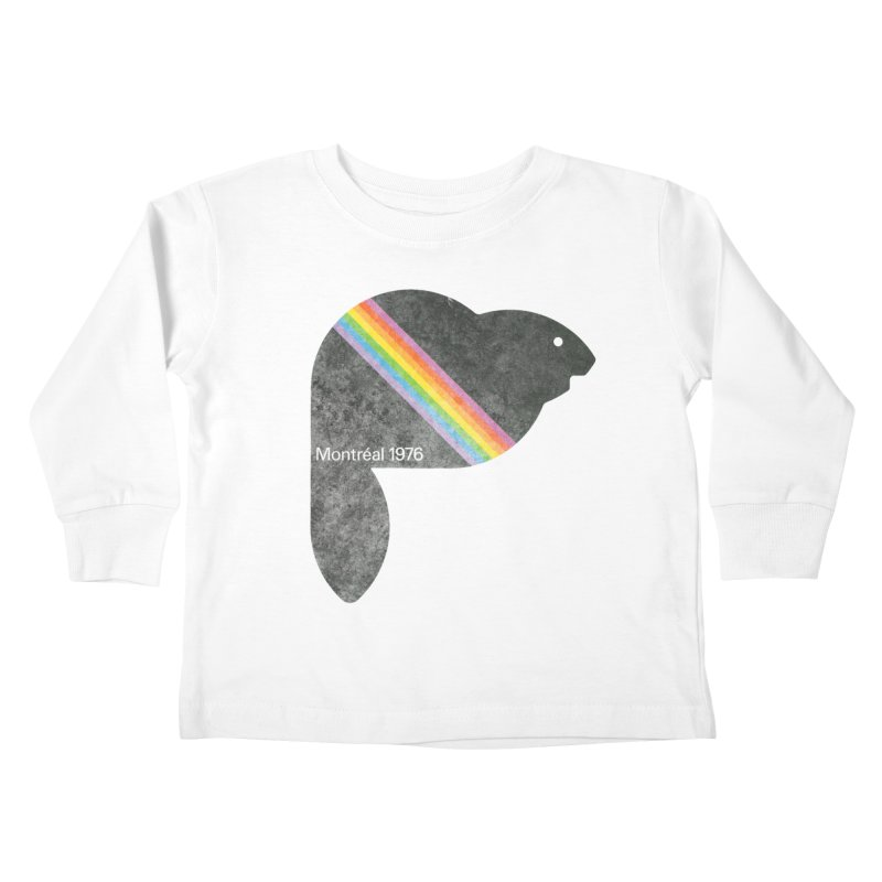 Montréal 1976 Kids Toddler Longsleeve T-Shirt by Chaudaille