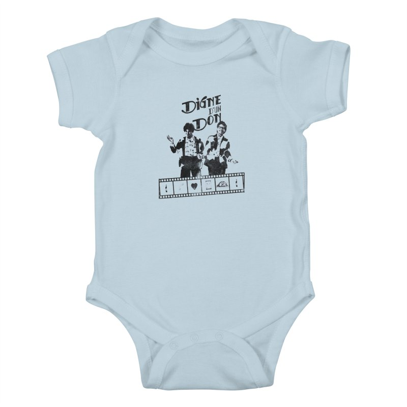 Ding et Dong Kids Baby Bodysuit by Chaudaille